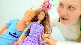 Новое платье Барби для свидание с Кеном. Игры для девочек