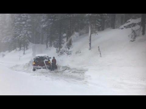 شاهد.. مروج الثلوج تخفي معالم سييرا نيفادا الأمريكية  - نشر قبل 3 ساعة