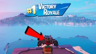 Win EVERY GAME GLITCH! (How to Win Every Fortnite Game By Staying in The Sky)