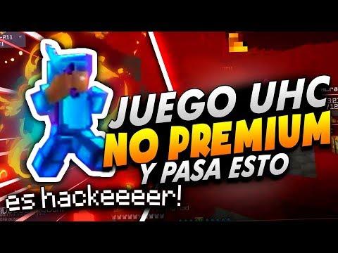 Juego UHC En Server NO Premium Y Pasa Esto...