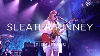 Video Sleater Kinney Full Concert | NPR MUSIC FRONT ROW download MP3, 3GP, MP4, WEBM, AVI, FLV Juli 2018