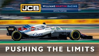 JCB and Williams Martini Racing - Pushing the Limits