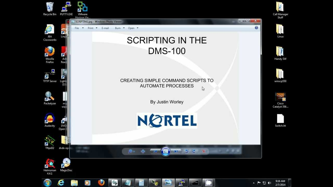 Creating Command Scripts In The Nortel Dms 100 Youtube