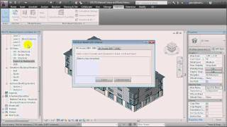 Revit Architecture - Using 4D Simulation for Materials Planning and Management
