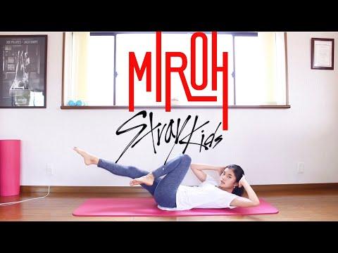 【K-POP筋トレ】キツめ!🔥 StrayKids 「MIROH」脂肪燃焼トレーニング   K-POP WORKOUT