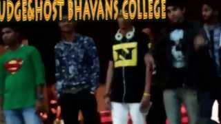 dj war 2015 bhavans college djsurr as judge and host