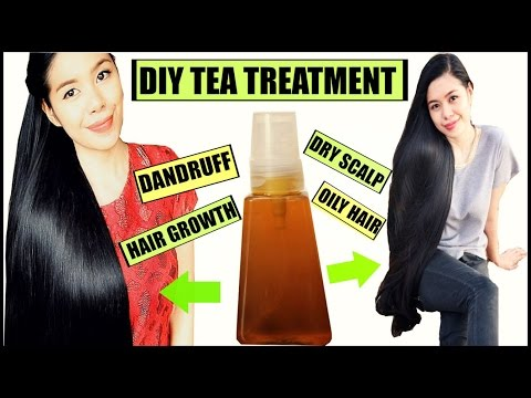 DIY 2 TEA Treatments For Dandruff ,Dry Scalp, Oily Hair & Hair Growth-Beautyklove