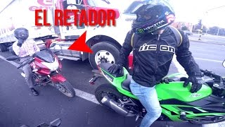ninja 300 vs pulsar 180 drag race top speed en ciudad