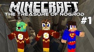 ΠΑΓΙΔΕΣ! ΠΑΓΙΔΕΣ ΠΑΝΤΟΥ! (Minecraft: Treasure of Nogrod) #1