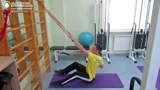Старший инструктор Станислав Холодков об упражнениях с резиновыми амортизаторами в домашних условиях