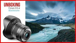 Irix 15mm f/2.4 Blackstone - Unboxing y Review en Español