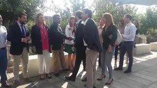 Casado visita Palma en un acto electoral