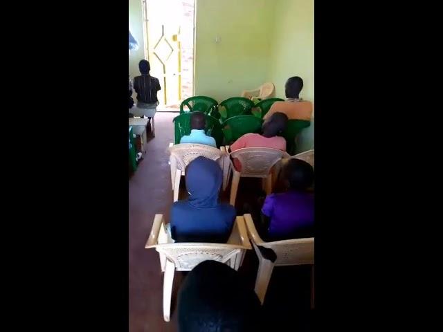 Bro Haron Teachign the Children Mois Bridge Kenya Genesis 13
