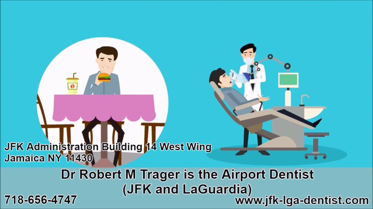 Dr Robert Trager the Airport Dentist NYC - Emergency Service