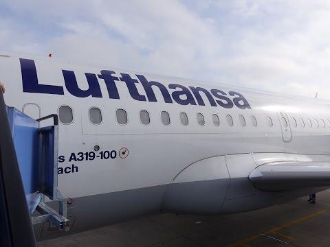 Lufthansa A319-100 Munich to London