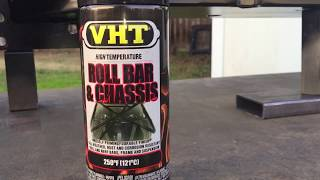 VHT Roll Bar and Chassis Paint Review