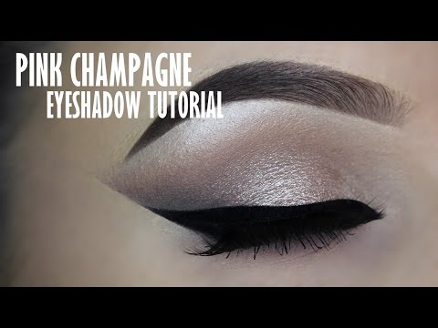 Classic champagne eye makeup tutorial