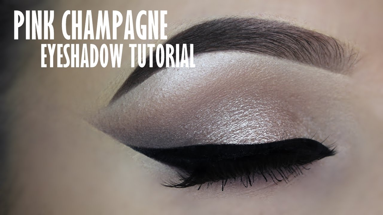 Classic Champagne Eye Makeup Tutorial Youtube