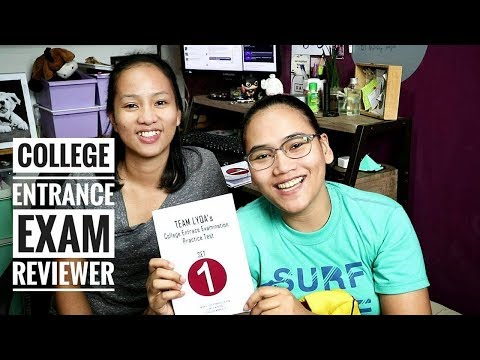 College Entrance Exam Reviewer Team Lyqa UPCAT PUPCET