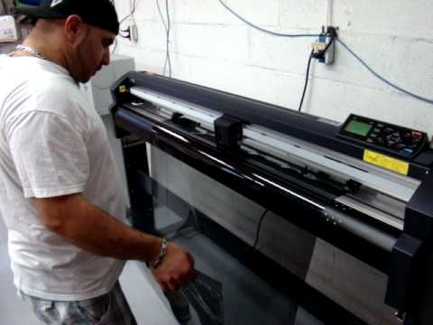 window tinting machine