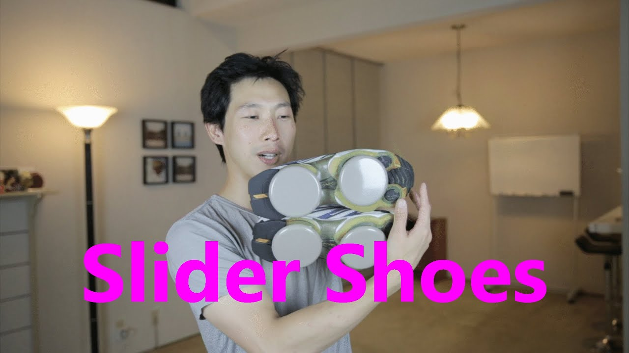 Carpet Skates Using Furniture Sliders | BeatTheBush   YouTube