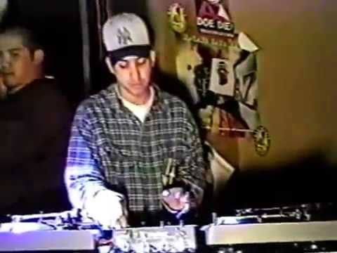 DJ Babu vs. DJ Melo-D at 1995 Vestax USA Finals