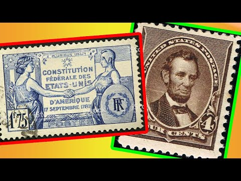 RARE AMERICAN STAMPS - RARE AND VALUABLE STAMPS WORTH MONEY