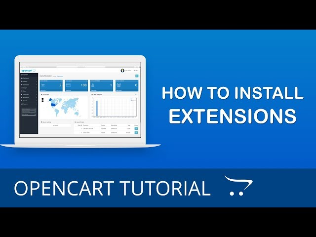 How to Install Extensions in OpenCart 3.x