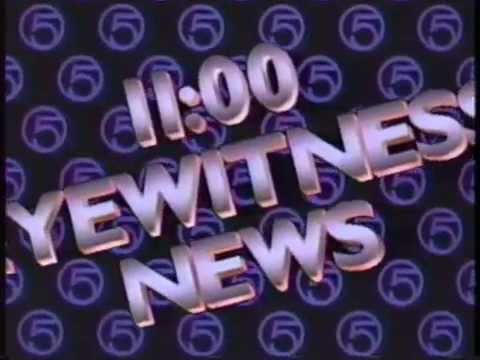 WEWS-TV5 News Promo with Ernie Anderson - 1987!