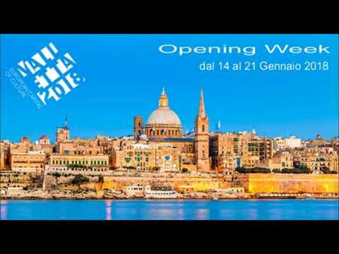 Radio Rai - Caffè Europa - Valletta Capitale della Cultura Europea 2018 di Anna Notariello