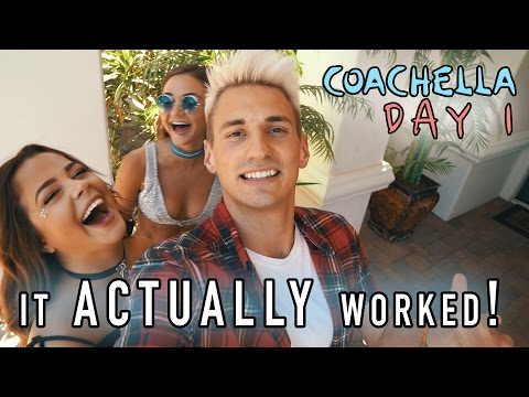 PICKING UP GIRLS AT COACHELLA FESTIVAL! (Funny Ending!)