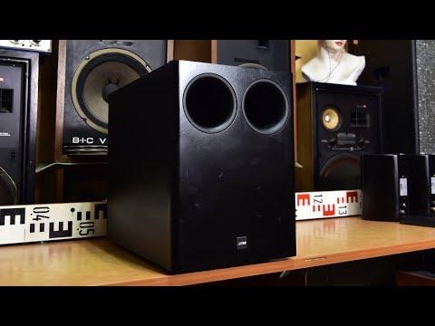 CANTON Combi 300 Sub Passive Subwoofer no #amp amplifier inside #audio #hifi #