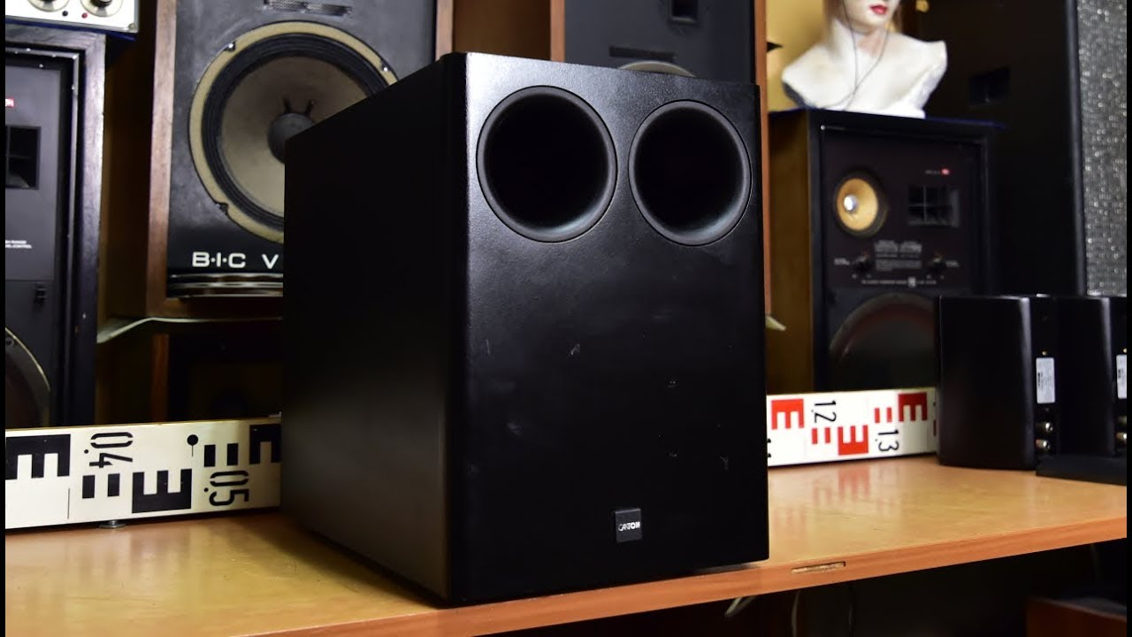CANTON Combi 300 Sub Bass Reflex Passive Subwoofer no #amp amplifier inside  #audio #hifi #