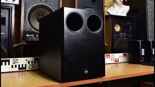 Canton Combi 300 Sub Bass Reflex Passive Subwoofer No Amp Amplifier Inside Audio Hifi Youtube