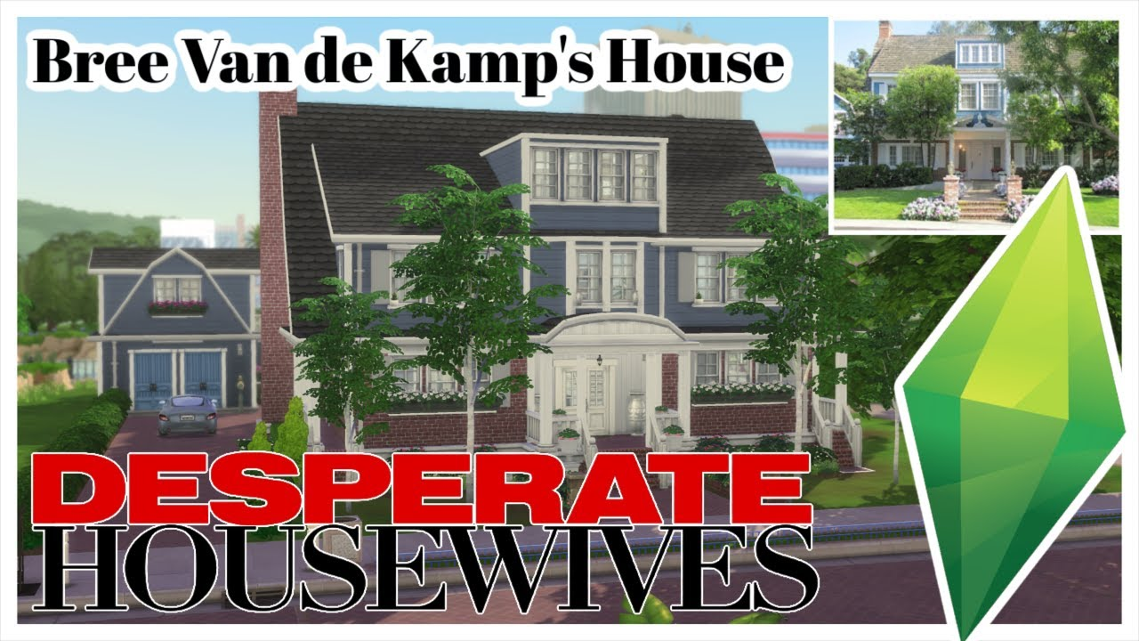 Building 4354 Wisteria Lane Desperate Housewives The Sims 4 Speed Build Youtube