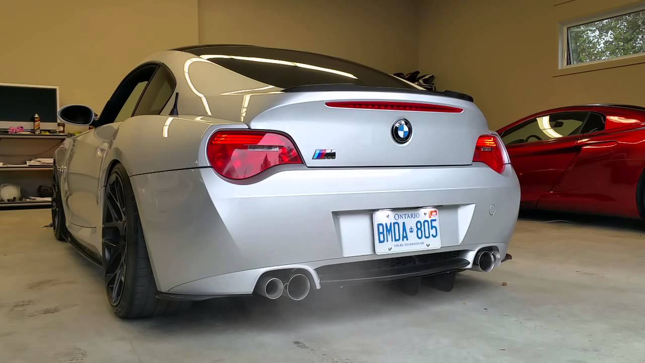 Bmw Z4m Coupe Rpi Exhaust Startup And Rev Youtube