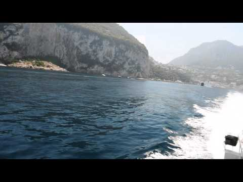 Jetfoil from Isle of Capri to Sorrento Italy