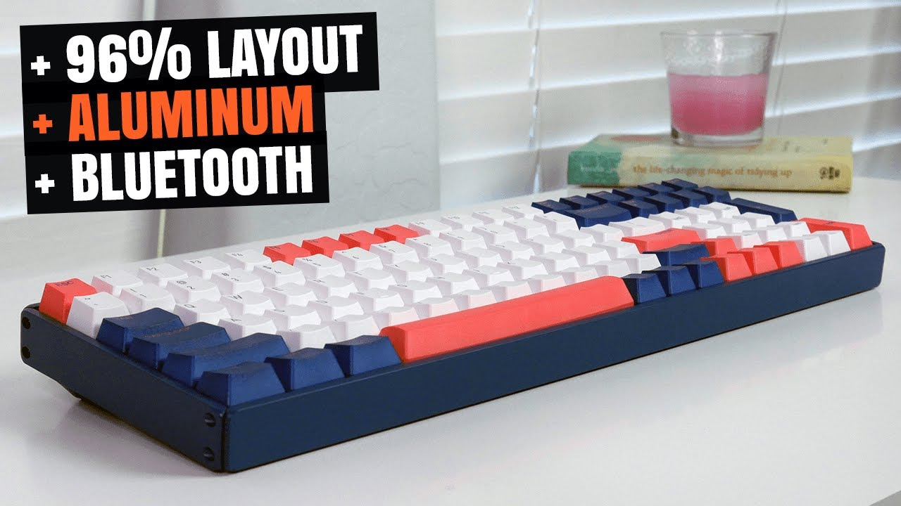 IQUNIX F96 Coral Sea: THIS WIRELESS MECHANICAL KEYBOARD IS AMAZING QUALITY!