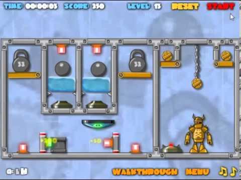 Crash The Robot Explosive Edition Walkthrough Levels 1 - 20