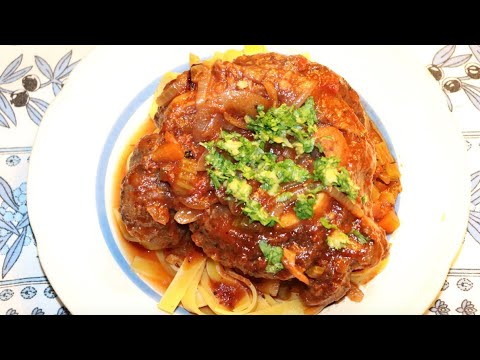 osso-buco-au-vin-blanc-cuit-au-romertopf-avec-pâtes-&-gremolata-/-en-cocotte-au-four---recette-#235