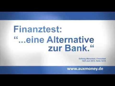 Finanztest empfiehlt - Der Privatkredit von auxmoney