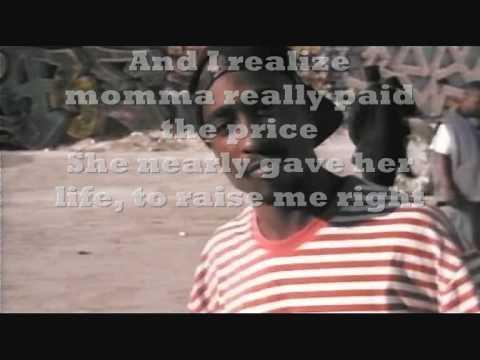 2pac keep ya head up (with lyrics on screen)