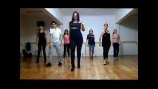 "STRIP HEELS by Anabella Ciancia / ""Red blooded woman"" coreography 2013"