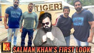 TIGER 3 SALMAN KHAN'S FIRST LOOK REVEALED  REACTION  VARINDER SINGH vs SALMAN KHAN FIGHT  KABIR KHAN