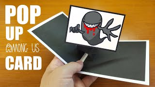 Among Us NOVISOR Pop Up Card!Paper Craft DIY & Drawing NOVISOR Tutorial