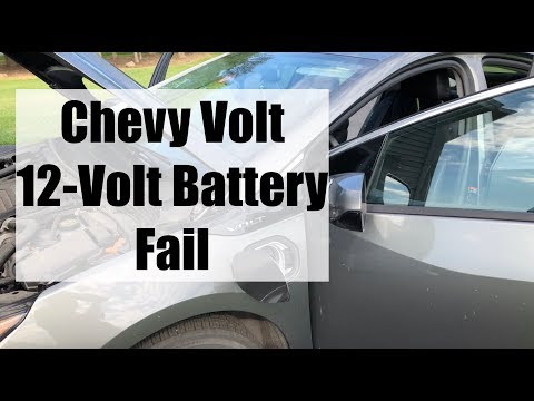Chevy Volt (Gen2) 12 - Volt Battery FAIL!