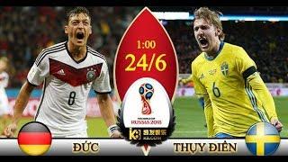 Lịch thi đấu World Cup 2018 HÔM NAY 23/6: Đức KHÓ XƠI Thụy Điển, Bỉ vs Tunisia, Hàn Quốc vs Mexico