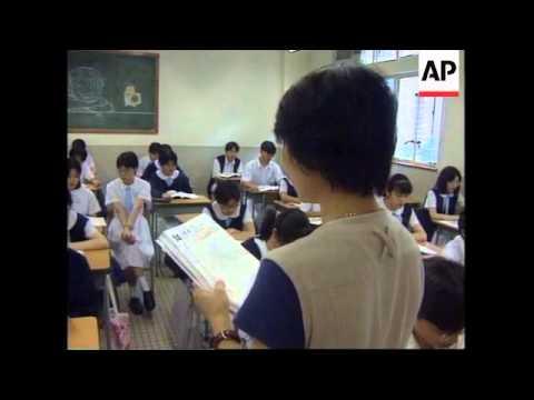 HONG KONG: HANDOVER TO CHINA MAY CHANGE SCHOOL EDUCATION SYSTEM