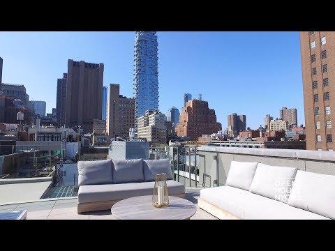 Modern Triplex Penthouse in TriBeCa | Open House TV