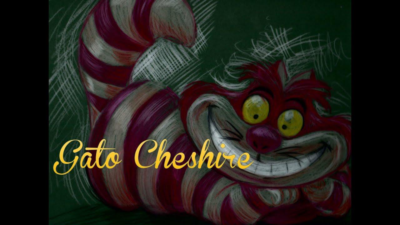 Dibujando una SONRISA (Gato Cheshire de Alicia en el pais de las ...